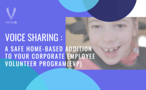 Voice Sharing, a Home-Based Corporate Employee Volunteering Option